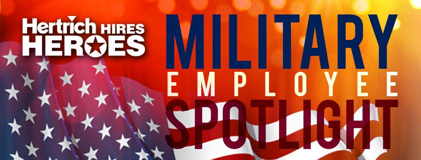 Employee Spotlight Military